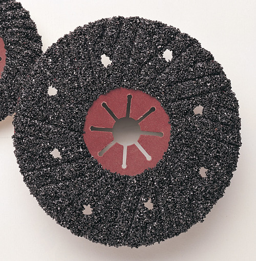 Pearl Abrasive Concrete/Stone Silicon Carbide Turbo Cut Disc 4 1/2 x 7/8 25 ct Case FSP4516