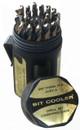 """Drill America 29 pc 1/16"""" - 1/2"""" x 64 ths Cobalt Drill Bit Set"""