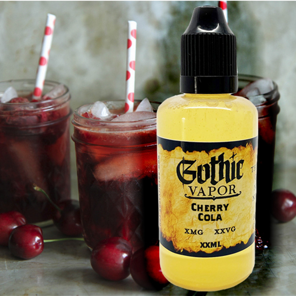 Cherry Cola flavored eLiquid by Gothic Vapor