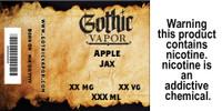Apple Jax cereal flavor eliquid