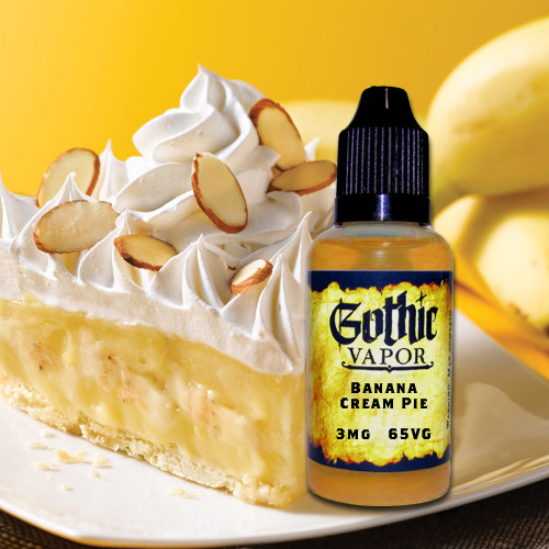 Banana cream pie eliquid.
