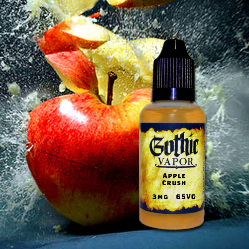 apple crush eliquid, apple juice