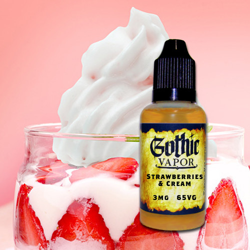 Strawberries and Cream eliquid
