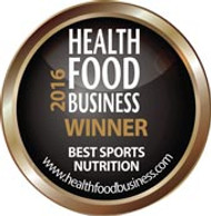 Dru Barley Grass receives the 2016 Best Sports Nutrition Award by HFB Magazine