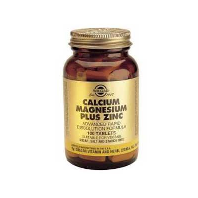 Calcium Magnesium Zinc 100 tablets
