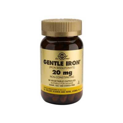 Gentle Iron 20mg 90 capsules