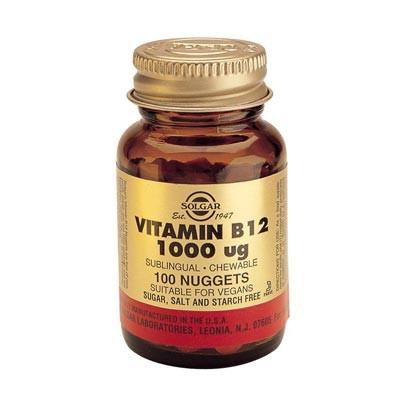 Vitamin B12 1000ug 100 nuggets