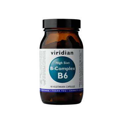 HIGH SIX Vitamin B6 with B complex