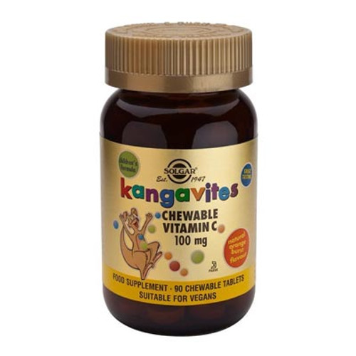 Kangavites Chewable - Orange Burst Vitamin C 100mg 90 tablets