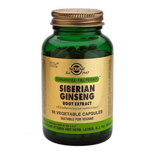 Siberian Ginseng Extract 60 capsules