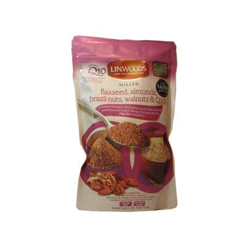 Milled Flaxseed, Walnuts, Brazil Nuts, Almonds & Q10 360g