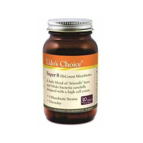 Super 8 - High Potency Probiotic 30 caps