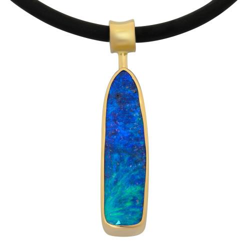 Boulder Opal pendant - Lost Sea Opals