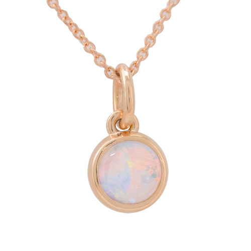 Lost Sea Jewels - Rose gold pendant