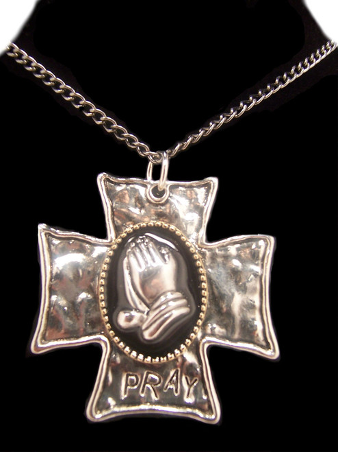 Pray/Cross Necklace