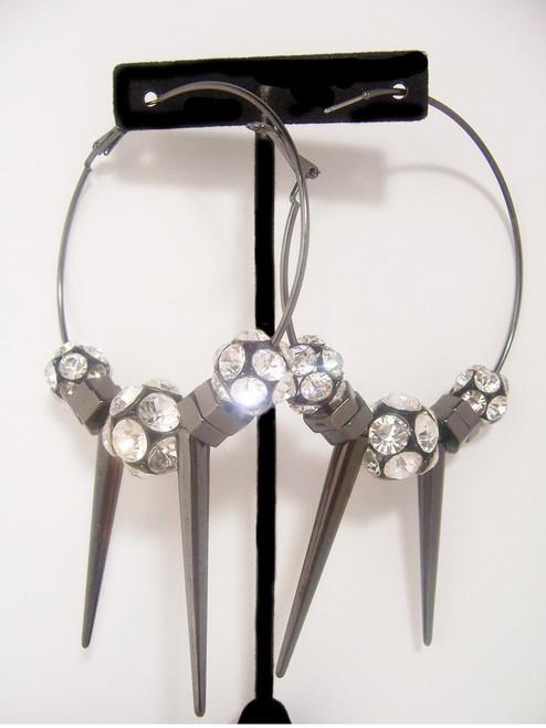 Killer Spike Hoop Earrings