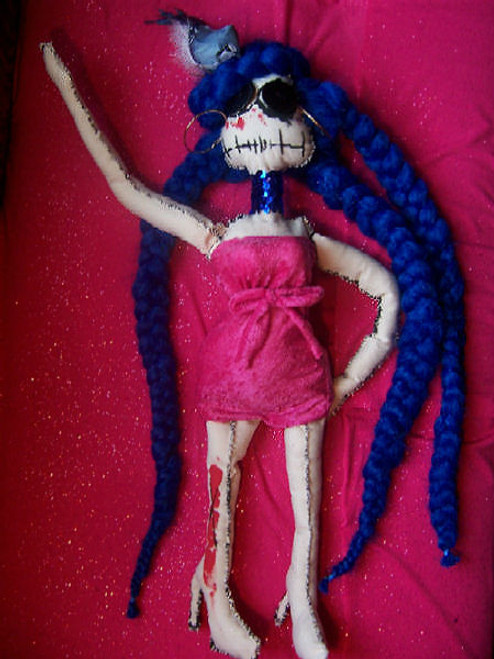 Ms. Peace Zombie Doll