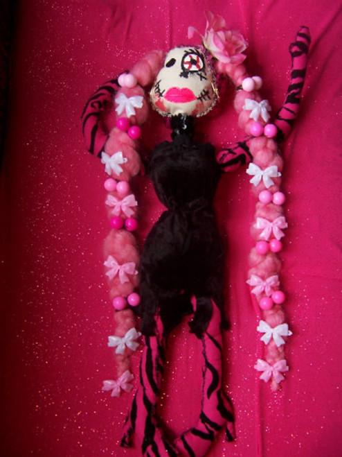 Ms. Flower Zombie Doll
