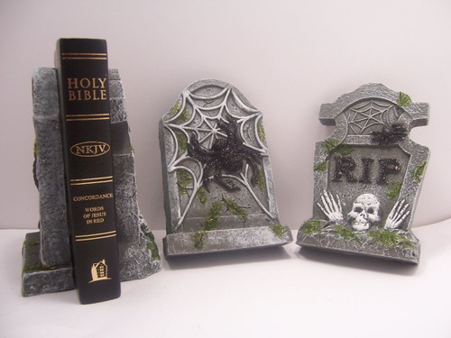 Tombstone Bookends