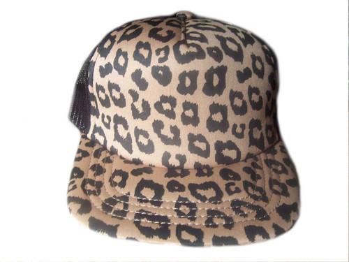 Leopard Print Women's Cap