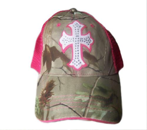 Pink Cross Women's Cap