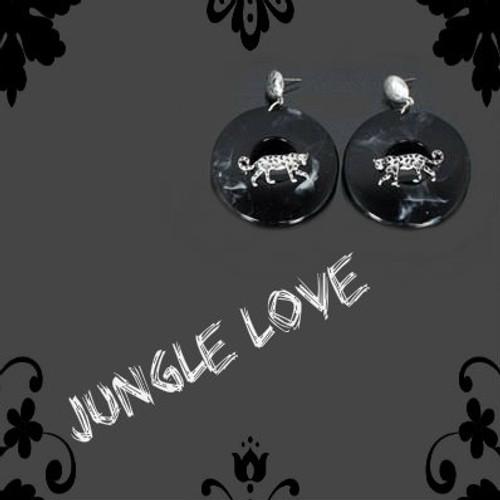Leopard/Marble Fashion Earrings