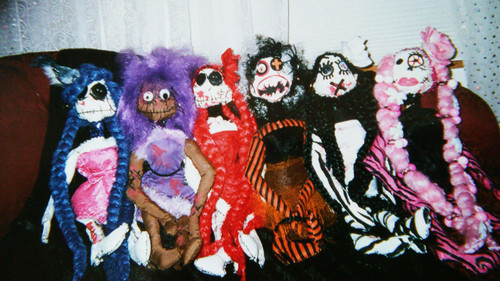 Zombie Doll Full Collection (6 Dolls Included)