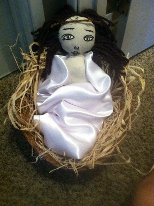 Baby Jesus (Brown Hair)