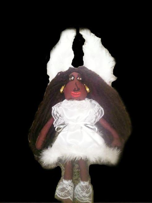 Black Angel/African American Doll Ragdoll