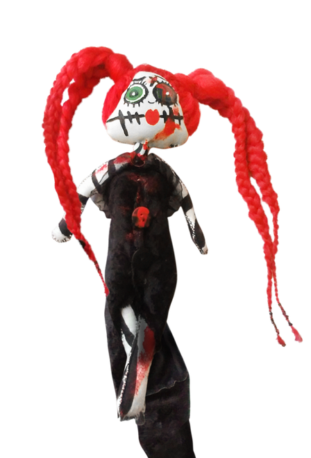 Red Head Zombie Doll