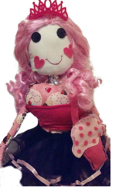 Princess Girl Doll/ Hug doll/Rag Doll