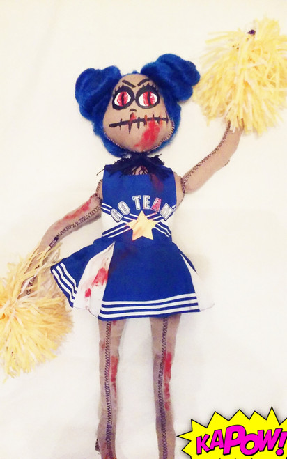 Ms. Cheerleader Zombie Doll