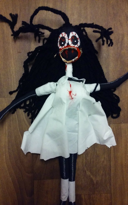 Black Doctor Zombie Doll