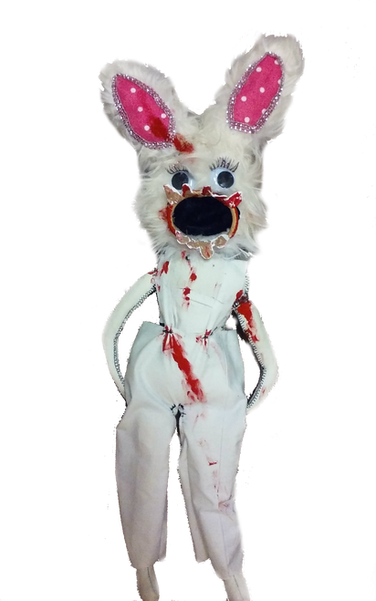 Crazy Bloody Rabbit Zombie Doll