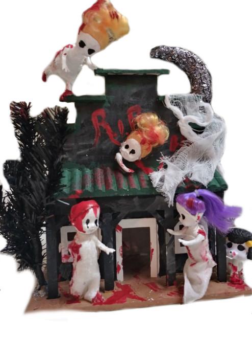 House of Horror/ Hallloween Horror House- FREE SHIPPING!