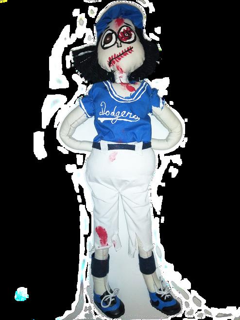 New York Dodgers Zombie Doll