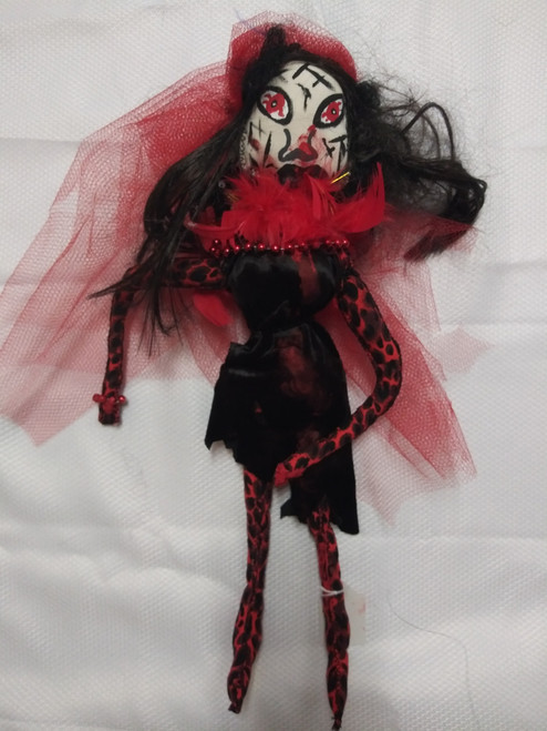 Flames Zombie Doll