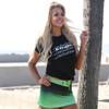 Ombre Swim Skirt  - Green PWC Jetski Ride & Race Swimwear