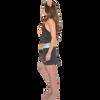 Mission Bay Tankini - Blue / Orange PWC Jetski Swimwear