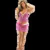 Ildi Tankini - Pink & Black PWC (Clearance)