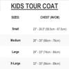 Kids Tour Coat Young Heart- Green PWC Jetski Ride & Race