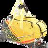 Day 10 Rolling Gear Bag Spike - Multicolor PWC Jetski Ride & Race Gear