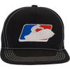 Sit Down League Hat - Black PWC Jetski Ride & Race Accessories