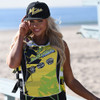Stacked Hat - Yellow PWC Jetski Ride & Race Accessories