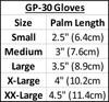 Spike GP-30 Gloves - Blue PWC Jetski Ride & Race Gear