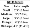 Spike GP-30 Gloves - Grey PWC (Small)  | Closeout Size