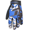 Shattered GP-30 Gloves - Blue | Closeout Size Small Only
