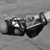 Shattered GP-30 Gloves - Grey PWC Jetski Ride & Race Gear