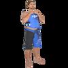 Men's Spike Shorts - Blue PWC Jetski Apparel (Clearance)