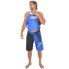 Men's Spike Shorts - Blue PWC Jetski Apparel (Clearance)